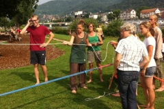 Slackline Workshop 28.07.2014